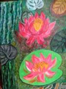tableau fleurs : Nenuphars
