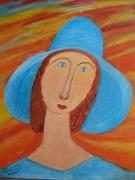 tableau personnages : Capeline bleue