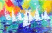 tableau marine mer voiliers pays du monde exotisme : Alizées