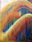 tableau nus femme nu intimite orange : Intimité
