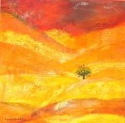 tableau paysages nature arbre ecologie planete : le dernier arbre