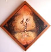 tableau amour renaissance baiser visages : renaissance
