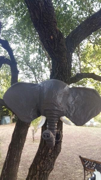 SCULPTURE Éléphant Animaux  - Elephant