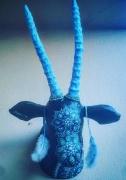 sculpture animaux oryx bleu : Oryx