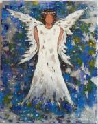 tableau personnages ange celeste religieux decor : Ange abstrait