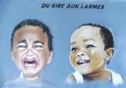 dessin personnages pastel estompe rire larmes : Du rire aux larmes