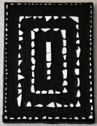 mixte abstrait tableau lumiere creation miroir matiere delphine vigoureux : Les 4 éléments