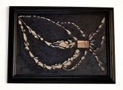 mixte abstrait tableau lumiere creation miroir matiere delphine vigoureux : error de la nature
