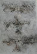 tableau abstrait abstrait : Étoile filante