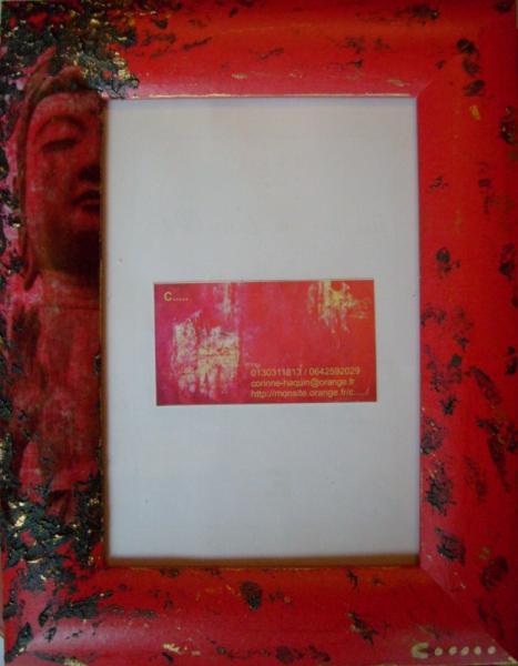 BOIS, MARQUETERIE orient bouddha meditation Personnages  - meditation