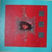 tableau personnages tableau enfant enfant asie asie tableau rouge : ENFANT ASIE