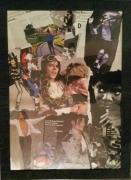 tableau personnages michael jackson tableau collage haquin corinne : MICHAEL JACKSON