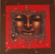 tableau personnages bouddha tableau asie haquin corinne : BOUDDHA 4