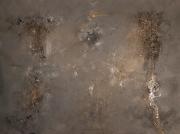 tableau abstrait tableau abstrait tableau gris techniques diverses tableau moderne : Meteorite