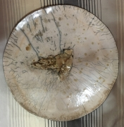 ceramique verre autres plat raku : PLAT RAKU