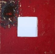 bois marqueterie personnages miroir enfant rouge glace : MIROIR 9