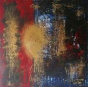 tableau abstrait abstrait tableau toile abstraite : AURORE