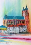 tableau architecture basilique saintnicolasdepor saintnicolas lorraine : Basilique de st nicolas