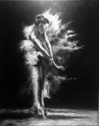 tableau personnages danse danseuse : Danse le sable