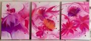 tableau fleurs fleurs pivoine tableau feuilles : Pivoine and co