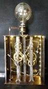 deco design steampunk industriel lampe : p# clockwork