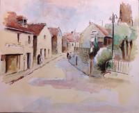 Egly village