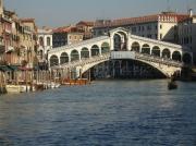 photo paysages venise architecture paysages artistique : Pont du Rialto à Venise