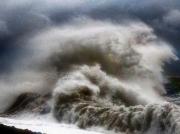 photo autres tempetes mer paysages : Une vague en furie
