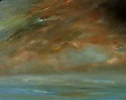 tableau marine ocean ciel nuages paysage voyage : TALISMAN
