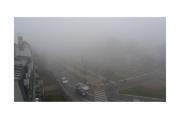 photo villes brume aube parc vue : Vue de ma fenêtre 3
