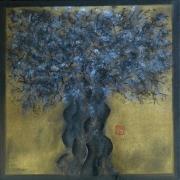 tableau paysages arbre racines foret : Arbre 2
