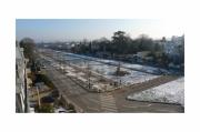 photo villes neige parc dessus : Vue de ma fenêtre 4
