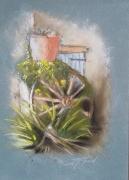 tableau paysages : Locronan