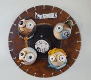 sculpture personnages agence tous risques ceramique personnage : L'agence toutes rixes