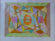 tableau abstrait expositions artiste oeuvres creations : Kaléïdoscope