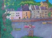 tableau paysages artiste oeuvres dessins expositions : Belle Ile