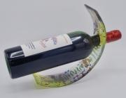 ceramique verre fleurs feuille art de table decoration motif vegetal : Présentoirs à bouteille fougère