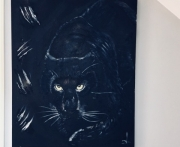 tableau animaux : panthera black