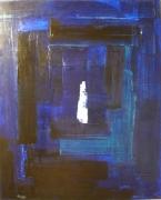 tableau personnages silhouette nuit : Silhouette dans la Nuit