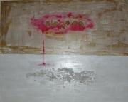 tableau paysages nuage : Nuage Rose