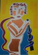 tableau personnages mythologie : L'origine du Caducée
