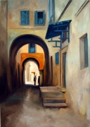 tableau villes art moderne contemporain : la medina historique
