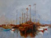 painting marine bateau ocean barque mer bleu barque voil : les pirates