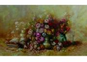 painting fleurs rose fleurs paysage rose fleurs rouge bl : mon amie la rose
