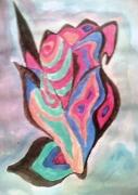 tableau abstrait main creativite art humain : Créativité