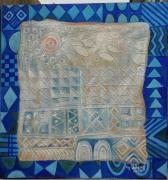 tableau autres motifs yoruba ife school nigerian art : OLOMITUTU
