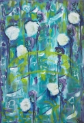 tableau abstrait giverny monet abstrait fypbie : Giverny