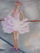 tableau sport tutu jeune fille danse : Danseuse