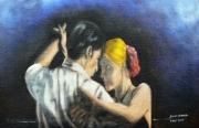 tableau personnages danse tango cinema : Tango dwm 1