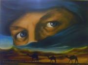 tableau paysages desert afrique : Mauritania